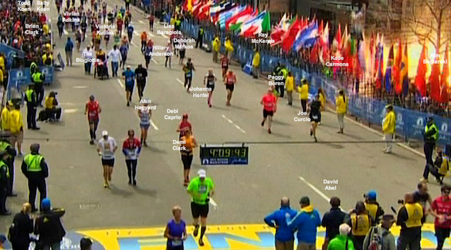 A Moment From the Boston Marathon, Audio and Stories - Interactive Feature