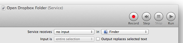 "Select ""no input"" and ""Finder"""